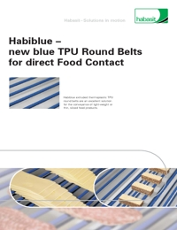 HABASIT Conveyor Belts Round Blue Belts Catalogue