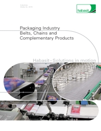 HABASIT Conveyor Belts & Chains Packaging Industry Catalogue