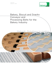 HABASIT Conveyor Belts Bakery Industry Catalogue