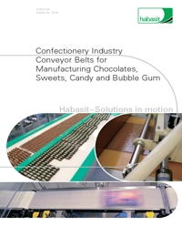 HABASIT Conveyor Belts Confectionery Industry Catalogue