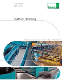 HABASIT Conveyor Belts Material Handling Industry Catalogue