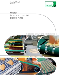 HABASIT Conveyor Belts Fabric & Round Belt Catalogue