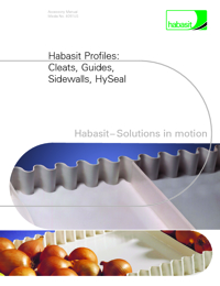HABASIT Conveyor Belts Cleats & Sidewall Range Catalogue