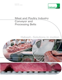 HABASIT Conveyor Belts Meat & Poultry Industry Catalogue