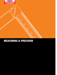 TOLEDO Tools Measuring Catalogue