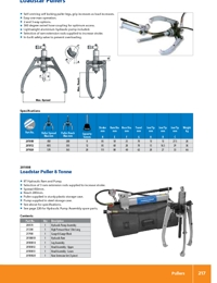 SYKES Pullers Loadstar Series Catalogue