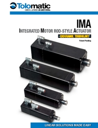 TOLOMATIC Power Transmission IMA Series Catalogue