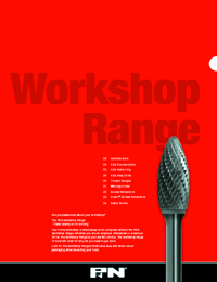 P&N Cutting Tools Workshop Range Catalogue