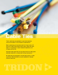 TRIDON Accessories Cable Tie Catalogue