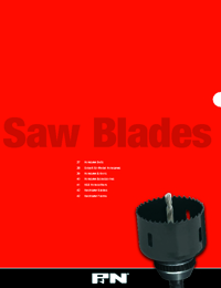 P&N Cutting Tools Sawblades Range Catalogue