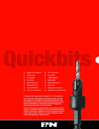 P&N Cutting Tools Quickbit Range Catalogue
