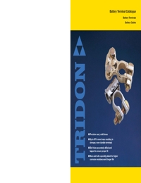 TRIDON Accessories Battery Terminals Catalogue