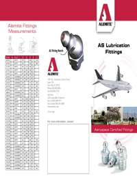 ALEMITE Lubrication Equipment Grease Nipple Brochure