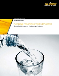 KLUBER Lubricants Beverage Industry Catalogue