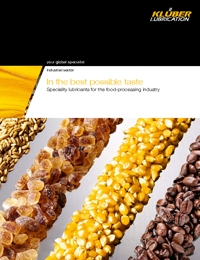 KLUBER Lubricants Food Processing Industry Catalogue