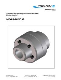 TSCHAN Couplings NOR MEX G Series Catalogue