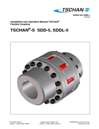 TSCHAN Couplings SDD-5 & SDDL-5 Series Catalogue