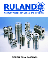 RULAND Couplings Flexible Beam Series Catalogue