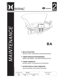OLI Vibrators Bin Activators Maintenance Catalogue