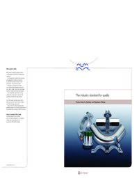 ALFA LAVAL Valves Tri Clover Catalogue