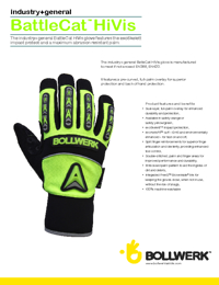 BOLLWERK Gloves Battlecat Series Brochure