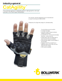 BOLLWERK Gloves Cat Agility Series Brochure