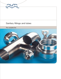 ALFA LAVAL Valves Sanitary Fittings & Tubes Catalogue