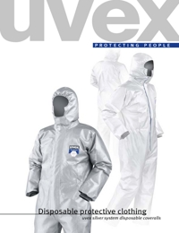 UVEX Safety Equipment Disposal Protective Clothing Range Catalogue