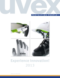 UVEX Safety Equipment Complete Range Catalogue