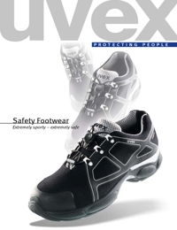 UVEX Safety Equipment Footwear Range Catalogue