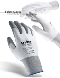 UVEX Safety Equipment Gloves Range Catalogue