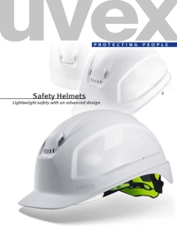 UVEX Safety Equipment Headwear Range Catalogue
