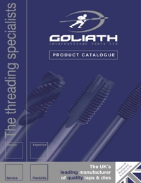 GOLIATH Taps & Threading Tools Catalogue