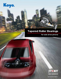 Tapered Roller Bearings for axle drive pinions