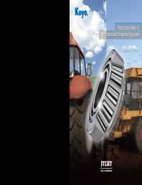 Product Information for Agricultural and Construction Equipment