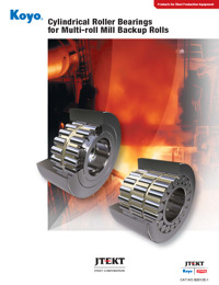 Cylindrical Roller Bearings for Multi-roll Mill Backup Rolls