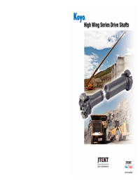 High Wing Series Drive Shafts