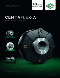 CENTA Couplings Centaflex A Brochure