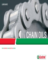 CASTROL Chain Oils Catalogue