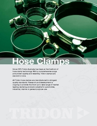 TRIDON Accessories Hose Clamps Catalogue