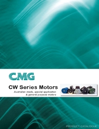 CMG Electric Motor CW Series Catalogue