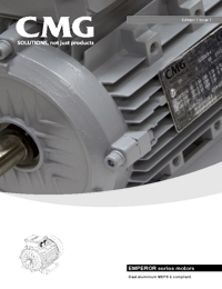 CMG Electric Motors HLE Series Catalogue