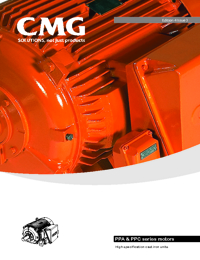 CMG Electric Motors PPA & PPC Series Catalogue