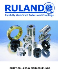 RULAND Couplings Shaft Collars & Rigid Series Catalogue