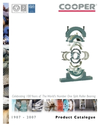 COOPER Split Roller Bearings 2007 Catalogue