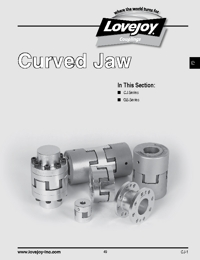 LOVEJOY Couplings Curved Jaw Series Catalogue