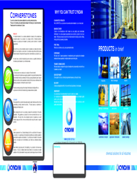 CYNDAN Products Overview Brochure