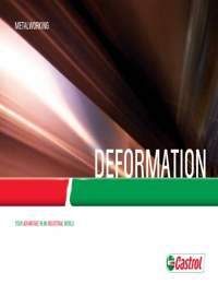 CASTROL Deformation Catalogue