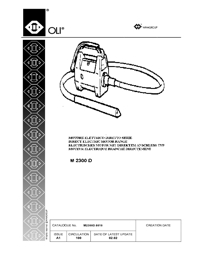 OLI Vibrators Direct Electric Motor Range Catalogue