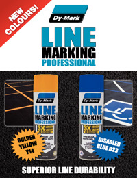 Dy-Mark Line Marking Pro New Colours Flyer